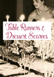 Table Runner / Dresser Scarf