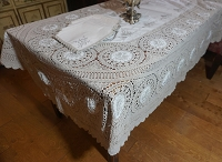 Tablecloth 96x60 with 12 Napkins