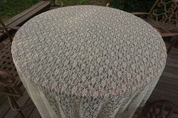 Lace Tablecloth 66x96
