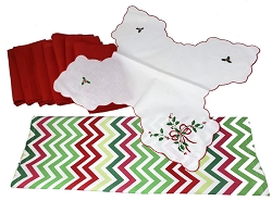Chevron Christmas Set