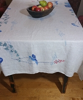 Linen Tablecloth 65 x 50
