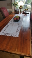 Battenburg Style Table Runner