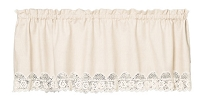Ribbon Crochet Valance