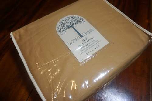 Gold Full Sheet Set - New
