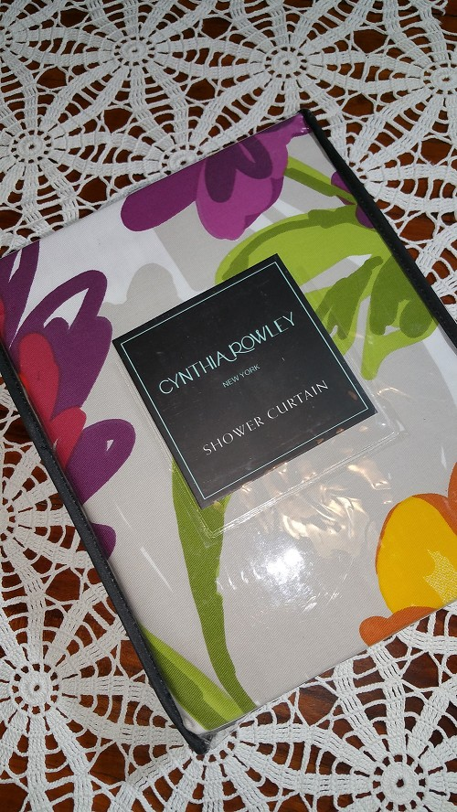 Shower Curtain by Cynthia Rowley