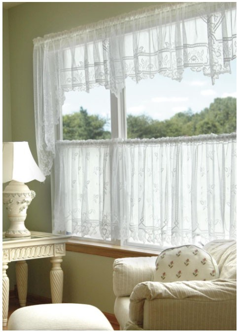 Heirloom Sheer Valance